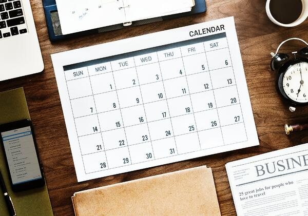 calendar with the right amount of meetings in a week by circleloop