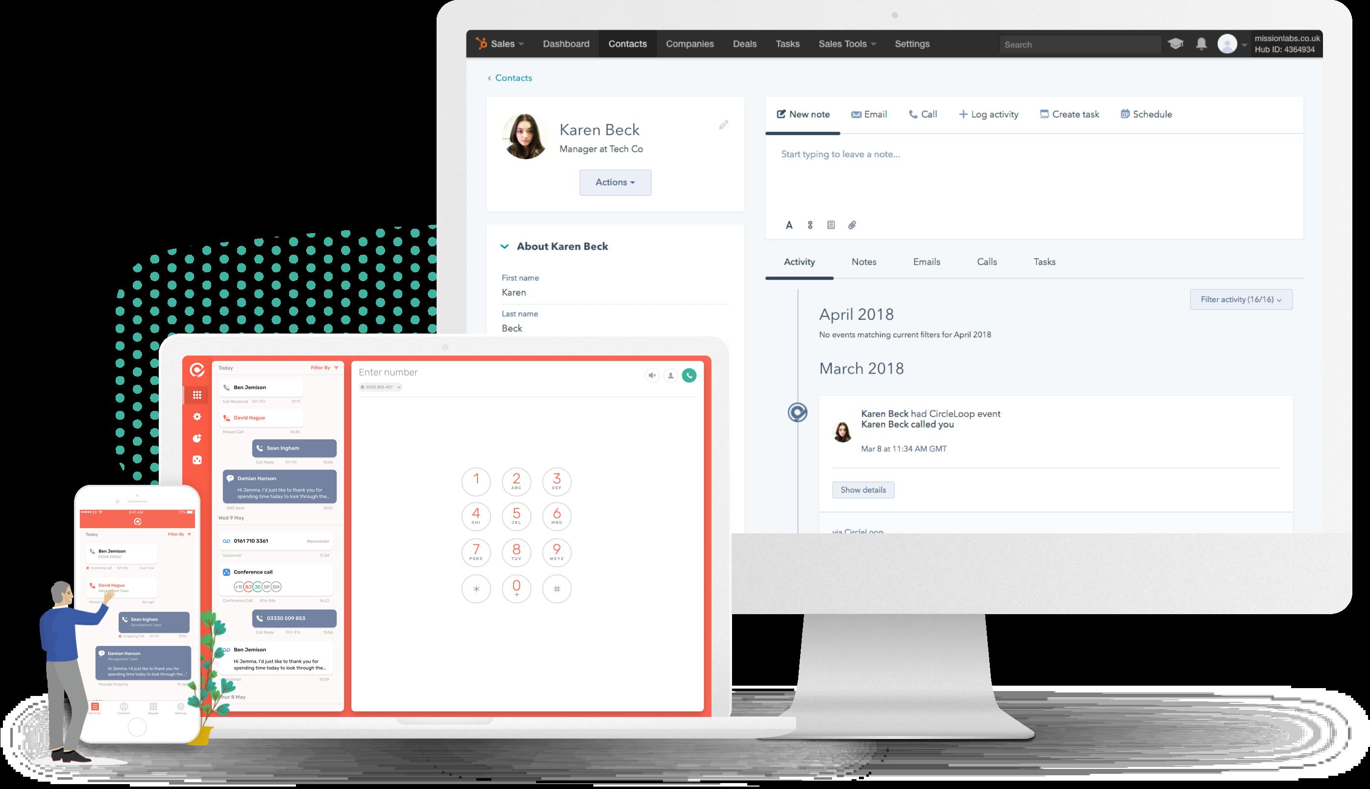 CircleLoop HubSpot integration
